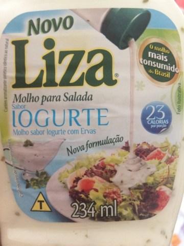 Molho para Salada Sabor Iogurte Liza