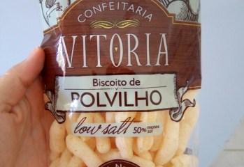 Biscoito de Polvilho Low Salt Confeitaria Vitoria