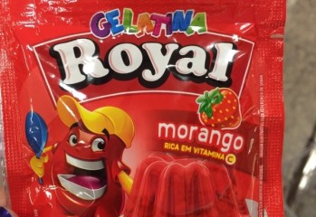 Gelatina Morango Royal