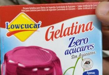 Gelatina Cereja Zero Lowcucar