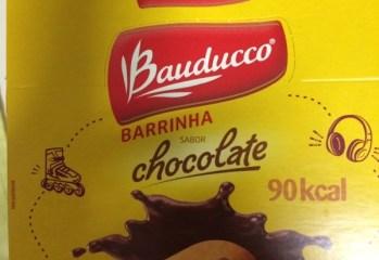 Barrinha Sabor Chocolate Bauducco