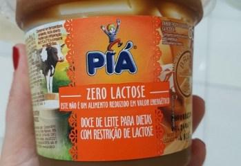 Doce de Leite Zero Lactose Pia