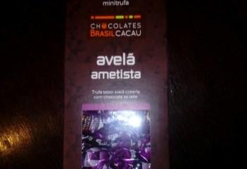 Trufa sabor Avelã Ametista Brasil Cacau