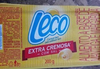 Manteiga e Margarina Extra Cremosa Com Sal Leco
