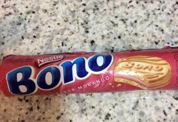 Biscoito Recheado Morango Bono Nestle