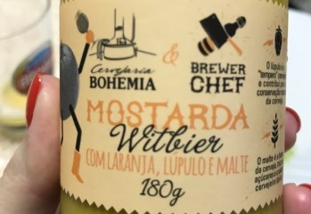 Mostarda Witbier Com Laranja, Lúpulo e Malte Brewer Chef
