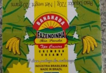 Bananada Tradicional Fazendinha