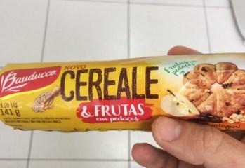 Biscoito Integral Cereale & Frutas em Pedaços Bauducco