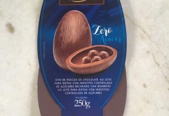 Ovo de Pascoa de Chocolate ao Leite Zero Acucar Laciella