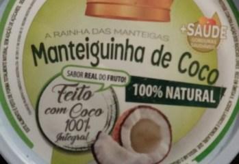 Manteiguinha de Coco Folhas Alimentos