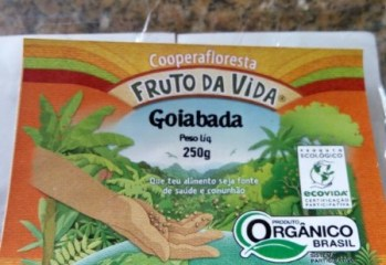 Goiabada Organica Fruto da Vida