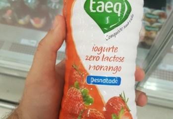 Iogurte Desnatado Morango Zero Lactose Taeq