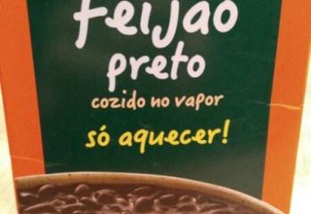 Feijão Preto Cozido no Vapor Vapza