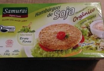 Hambúrguer de Soja Orgânico Sabor Ervas Finas Samurai