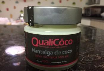 Manteiga de Coco Sabor Manteiga sem Sal QualiCôco
