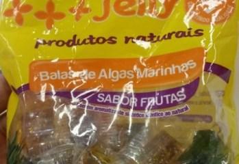 Balas de Algas Marinhas Sabor Frutas Sweet Jelly