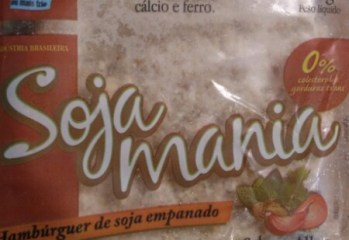 Hamburger de Soja Empanado Salsa e Alho Soja Mania