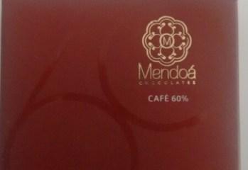 Chocolate 60 de Cacau com Graos de Cafe Mendoa Chocolates