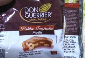 Palha Trufada Avelã Don Guerrier Chocolates