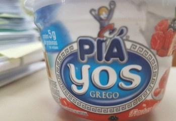 Iogurte Grego Sabor Frutas Vermelhas Yos Piá