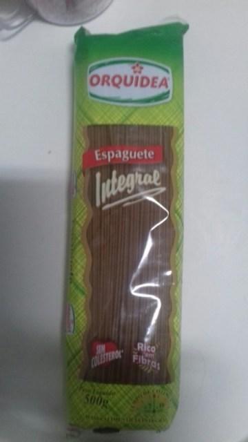 Espaguete Integral Orquídea