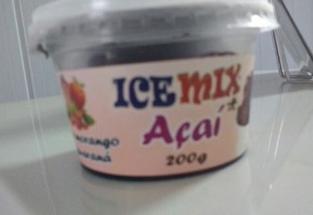 Açaí, Morango e Guaraná Ice Mix Açaí