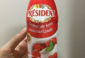 Creme de Leite Pasteurizado President