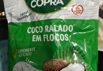 Coco Ralado em Flocos Adoçado Copra