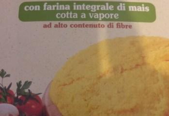 Mistura para Preparo de Polenta com Farinha de Milho Integral Pré-Cozido  Polenta Valsugana