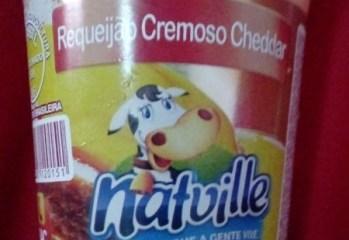 Requeijao Cremoso Cheddar Natville