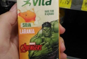 Bebida de Soja sabor Laranja Mais Vita Yoki