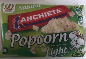Milho de Pipoca Popcorn Natural Light Anchieta