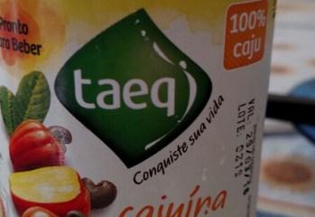 Suco de Caju Cajuina Organico Taeq