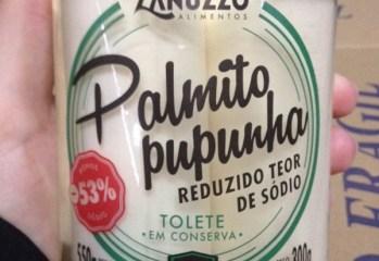 Palmito Pupunha em Conserva Reduzido Teor Sódio Zanuzzo