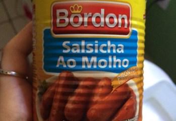 Salsicha ao Molho Bordon