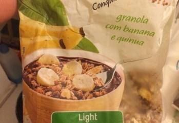 Granola com Banana e Quinua Light Taeq