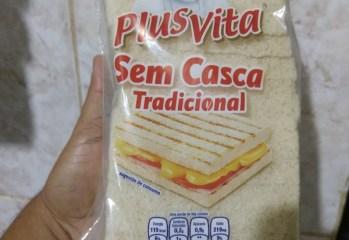 Pão Sem Casca Tradicional Plus Vita