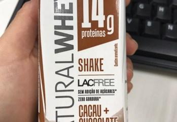 Shake Cacau Chocolate Natura Whey Verde Campo