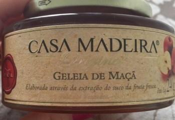Geleia de Maçã Casa Madeira