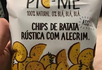 Chips de Batata Rústica com Alecrim Pic-Me