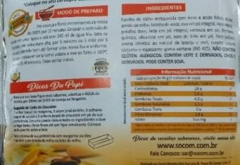 Mistura para Bolo de Cenoura, Laranja e Mel Du Papi Socom