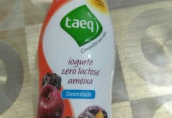 Iogurte Desnatado Ameixa Zero Lactose Taeq