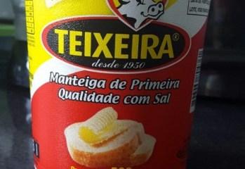 Manteiga de Primeira Qualidade Com Sal Teixeira