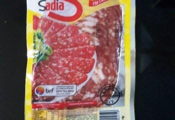 Salame Tipo Italiano Fatiado Sadia