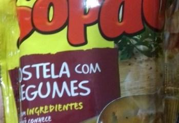 Sopão Costela com Legumes Maggi Nestlé