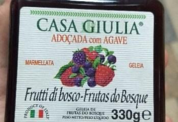 Geleia de Frutas do Bosque Casa Giulia