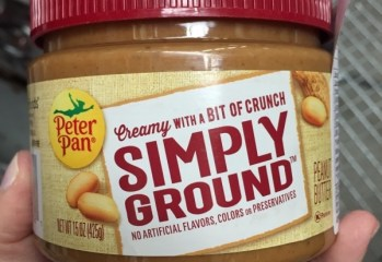 Pasta de Amendoim Simply Ground Peter Pan