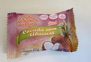 Cocada com Abacaxi Diet Sabor da Roça