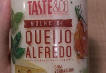 Molho de Queijo Alfredo TASTE&CO