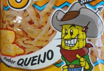 Salgadinho de Milho Sabor Queijo Glico Snack Ebicen